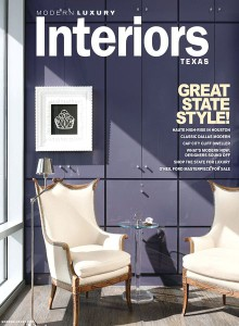Modern Luxury Interiors Cover Winter 2013