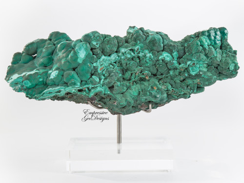 Malachite Sourced from the Congo