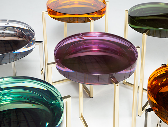 Holly Hunt: Luscious Lens Table