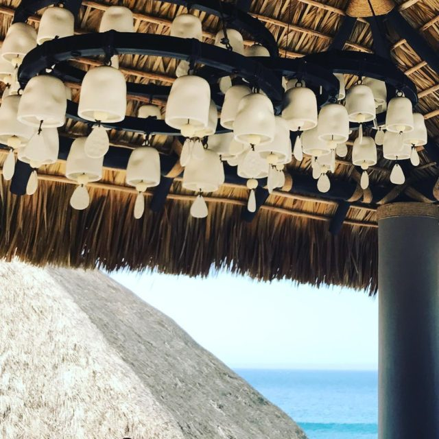 Casita lighting artisan handmade ceramic chandelier oceanside resort indooroutdoor potteryhellip