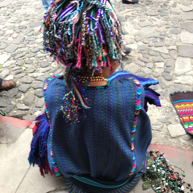 New riot of sound  localcolor textiles traditionaldress guatemalan maskshellip