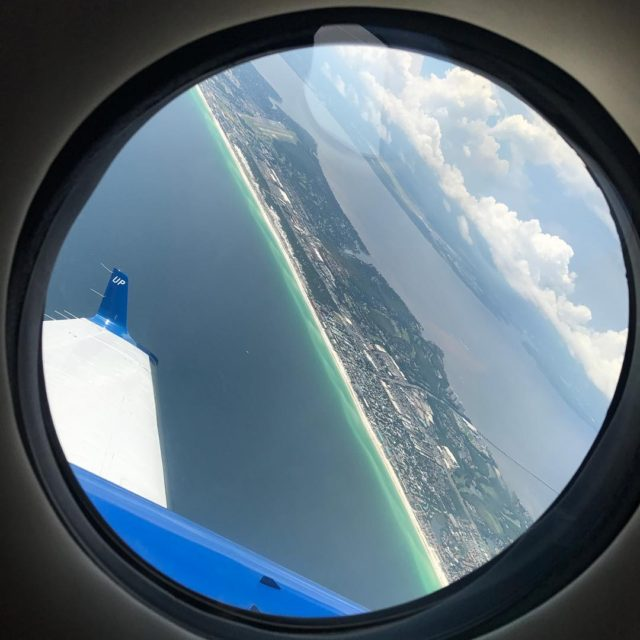 So long floridavacay overandout plane wheelsup window summerskies view beachviewhellip